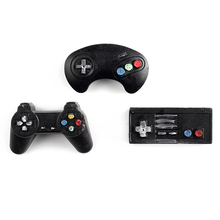 Nicole Game Controller Shape Silicone Mold for Natural Handmade Soap Bath Bomb Halloween Chocolate Candy Mould