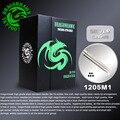50 unids teje magnum desechables agujas de tatuaje 1205m1 dragonhawk de plata de alto grado estándar agujas tattoo supply