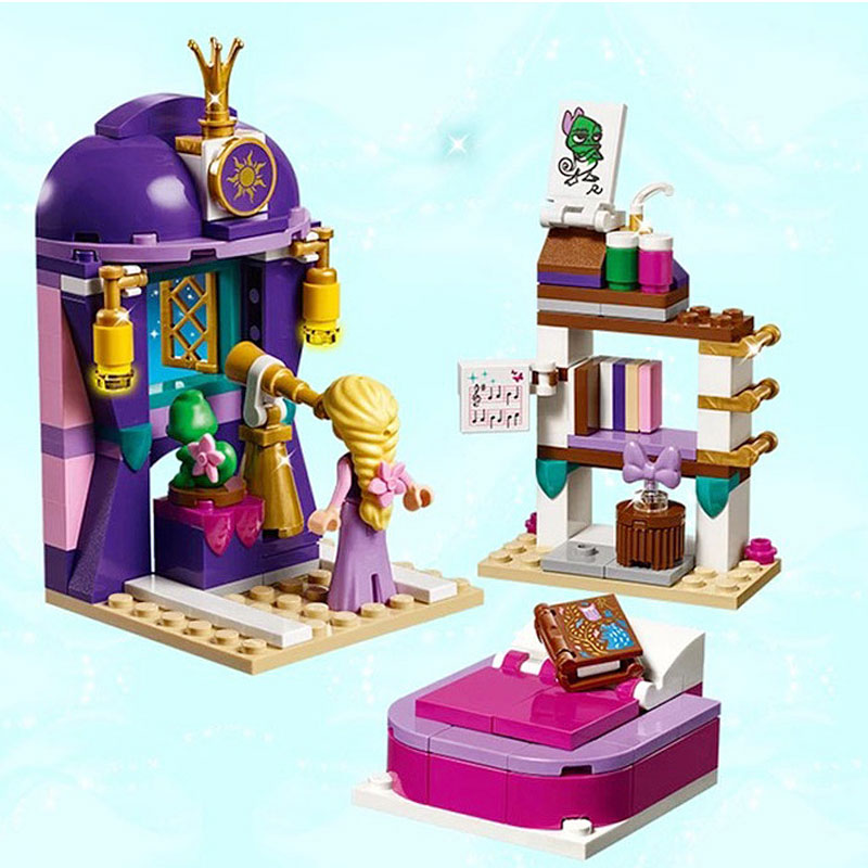 Doll Houses Considerate Lepin 25017 Girl Series Of Long Hair Princess Castle Bedroom Puzzle Children Legoeing Assembled Building Blocks Toys Hot Sale 50-70% OFF