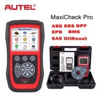 Autel OBD2 Scanner EPB/ABS/SRS/SAS/Airbag/Oil Service Reset/BMS/DPF Code Reader MaxiCheck Pro Car Diagnostic Tool Update Online