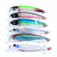 Bionic Fishing Bait Minor Minnow Lure 8.6cm/9.1g Plastic Hard Outdoor Sports 3d Eye Accessories
