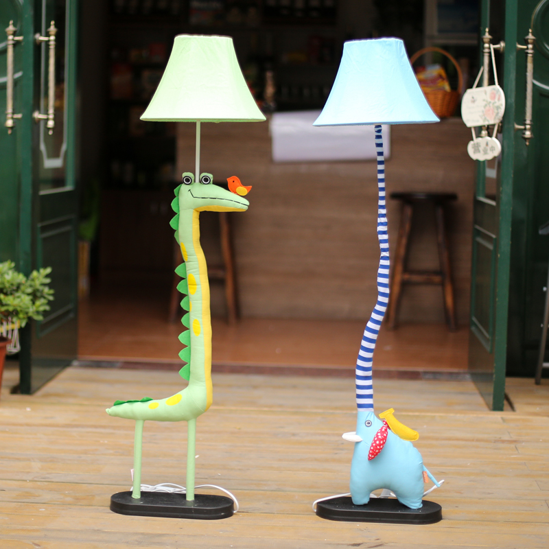 Kids Standing Lamps For Living Room Decoration lighting cloth ...