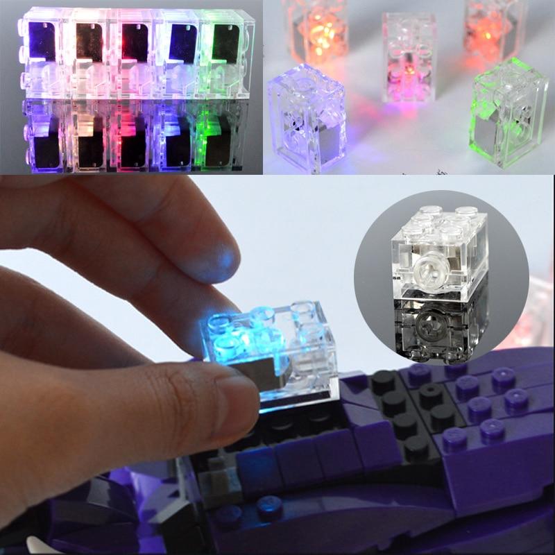 Led Up Glow Bouwsteen Bakstenen Verlichting Bouw Diy Kinderen Speelgoed Verlichten Van Reuma En Verkoudheid