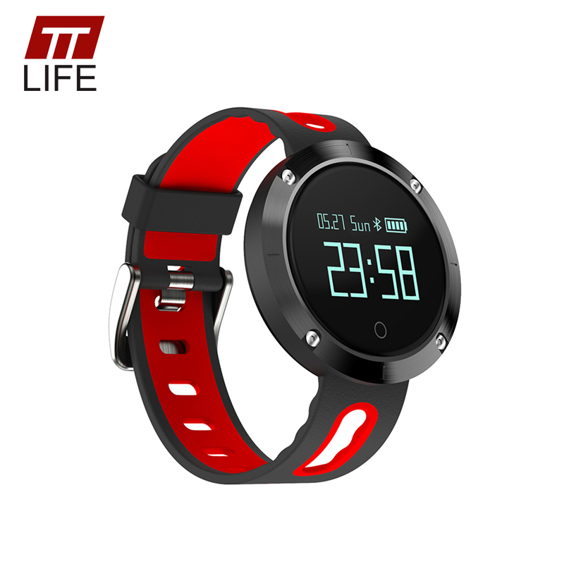 TTLIFE Top Brand Luxury Heart Rate Monitor Relogio Masculino Smart Watch With Pedometer Fitness Tracker Watches for IOS Android wireless heart rate monitor watch smart pedometer fitness tracker for sports