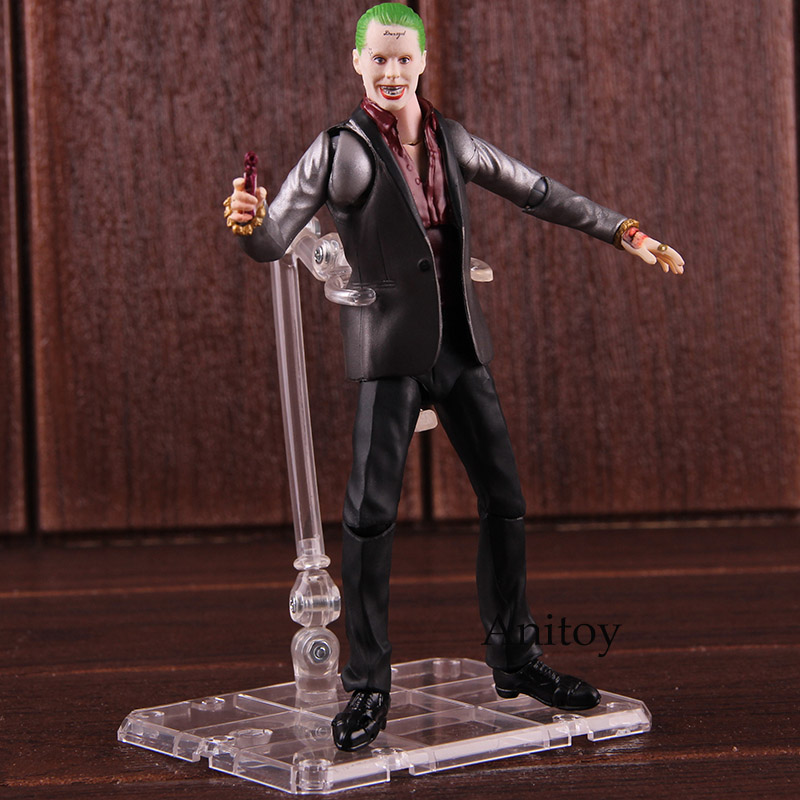 Shf Shfiguarts Suicide Squad The Joker With Stand Pvc Action Figure Collectible Model Toy Toys & Hobbies