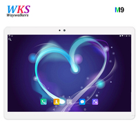 Free Shipping Octa Core 10 1 Inch Tablet 1920X1200 Android 7 0 Tablet 4GB RAM Computer