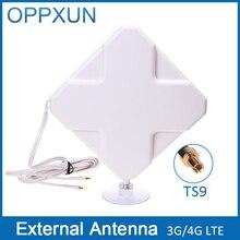 TS9 4G antenne 4G LTE antenne 3G antenne 35Dbi 4G LTE antenne externe avec 2 m câble pour Huawei Routeur Modem