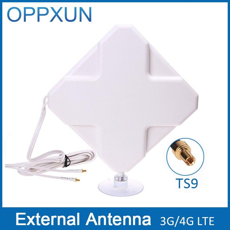 bilder für TS9 4G antenne 4G LTE antenne 3G antenne 35Dbi 4G LTE externe antenne mit 2 mt kabel für Huawei Router Modem