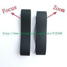 Enfoque de lente nuevo genuino + anillo de goma de Zoom para Canon EF 24 70mm 24 70mm f/2.8L II pieza de reparación USM (Gen 2)