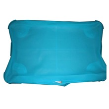 Alta qualidade branco azul silicone capa de pele caso protetor para nintend para wi eu ajuste placa de equilíbrio