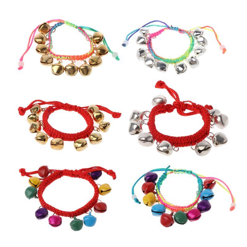 Women Girl Trendy Colorful Jingle Bells Dance Stretch