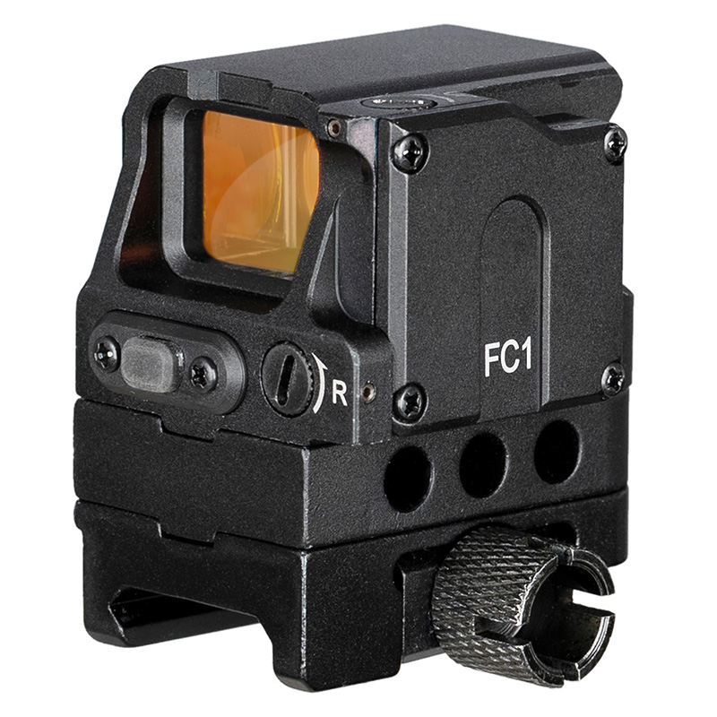 Optical FC1 Prismatic Red Dot Sight Scope Reflex Holographic Sight For 20mm Rail Shock Proof Hunting Scopes Ak 47