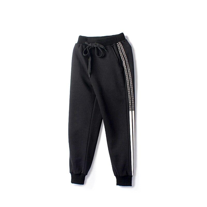 Boys Pants Kids Girls Pants Side Stripe Unisex Cotton Trousers Children Sport Pants Casual Kids Clothes Age  6  8 10 12 14 Year 5