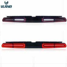 VLAND заводские автомобильные аксессуары задние фонари для Challenger 2008 2010 2014 с последовательным индикатором + DRL + обратный + тормоз