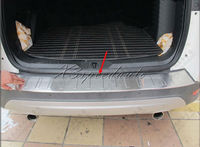 Stainless Steel Rear Bumper Door Sill Plate For Ford Escape Kuga 2013