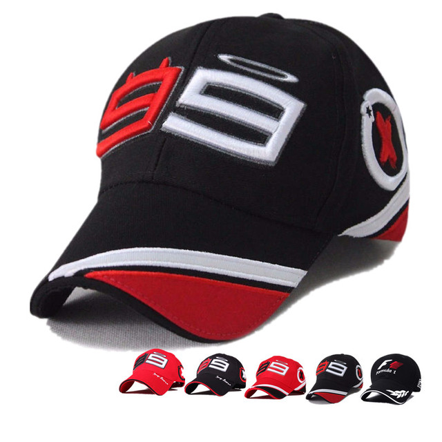 1fac00c94c0 Jorge Lorenzo 99 Cap Motorcycle Racing Fans Baseball Hat MOTOGP Snapback  Hats FORMULA 1 Racing Cap Men F1 Bone Gorras YY207
