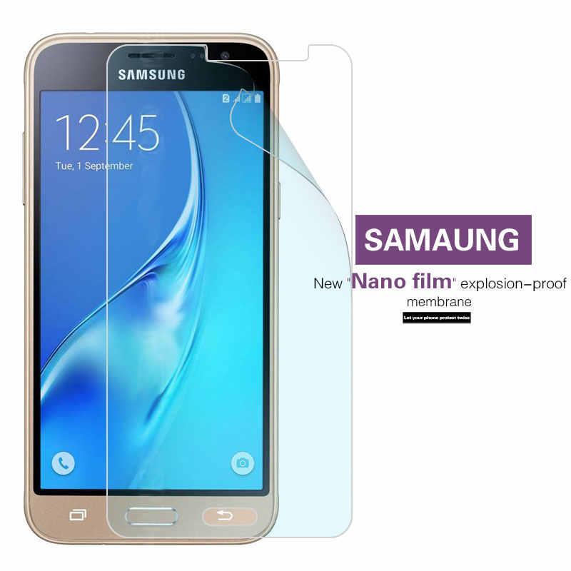Anti-shatter ป้องกันหน้าจอฟิล์มสำหรับ Samsung Galaxy J1 J2 J3 J5 J7 2016 J3 J5 J7 2017 ระเบิด -proof Nano Soft ฟิล์ม