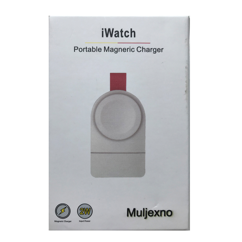 Muljexno for Apple Watch Charger Magnetic Portable Wireless Charger Compatible for Apple Watch Series 1 2 3 4 USB Fast Charger