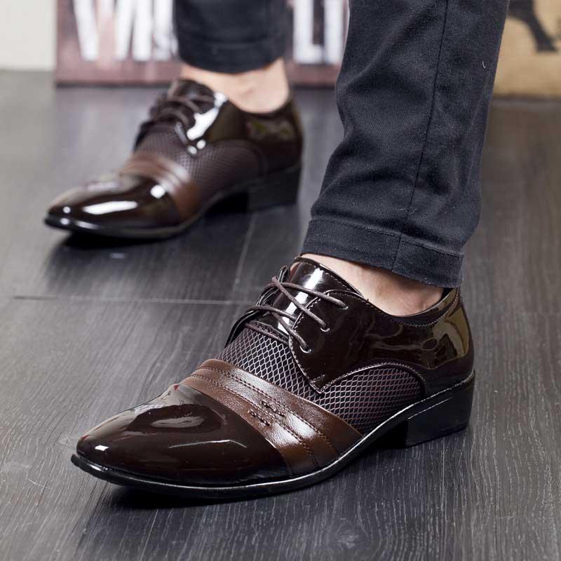 Top Plus Plat Bureau Hommes Low Ww Formelle 38 La Taille Noir Masorini Noir Respirant marron Robe 539 D'affaires 47 Brun Chaussures t6xw4Wqaz