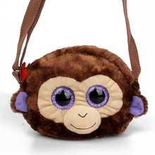Simulate animals Children School Bags Kindergarten Monkey kids boy plush backpacks Cartoon Animals girls Kids Bags