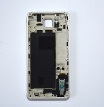 Middle Frame Housing Bezel With Small Parts+Battery Cover  for Samsung GALAXY Alpha G850 SM-G850F G850A
