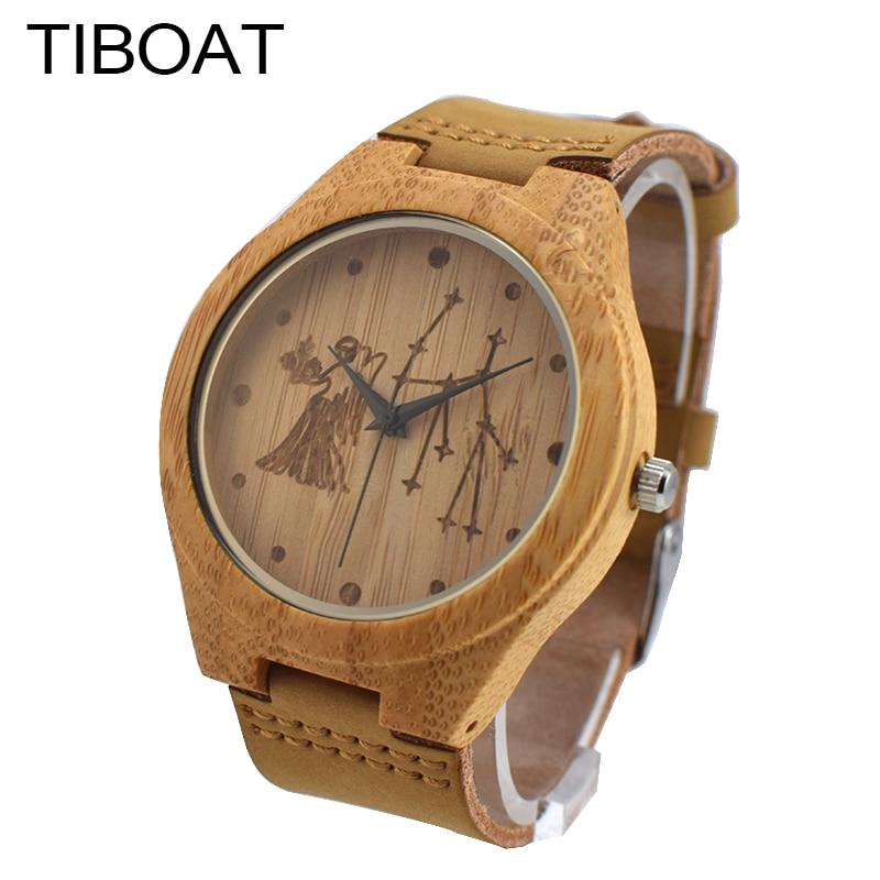 Hombres Relojes Virgo Tiboat Cluster Creativo Los Reloj De FlK13uTJc