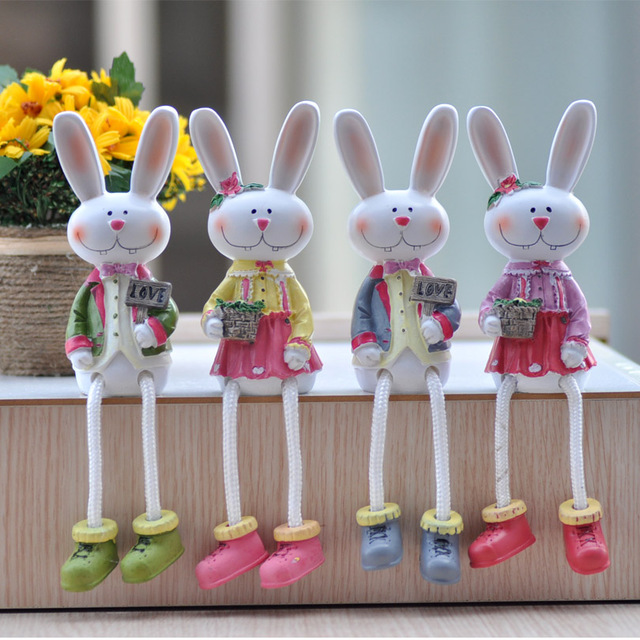 fu garden resin handicraft doll ornaments at merrill partition decorations couple miffy size - Fu Garden
