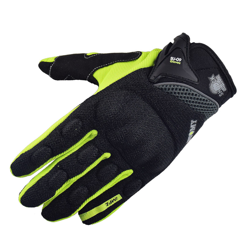 SUOMY NEW Motorcycle Gloves Green Motocross Racing gloves Full Finger Cycling guantes moto Motorbike Summer luvas da motocicleta new winter carbon protection motorcycle gloves waterproof luva motocicleta motorbike motocross gloves guantes moto bike glove