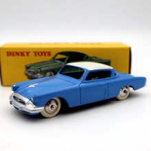 1:43 DeAgostini Dinky jouets 540 24Y Studebaker Commander Projet Catalogue moulé sous pression modèles édition limitée Collection Auto jouets voiture