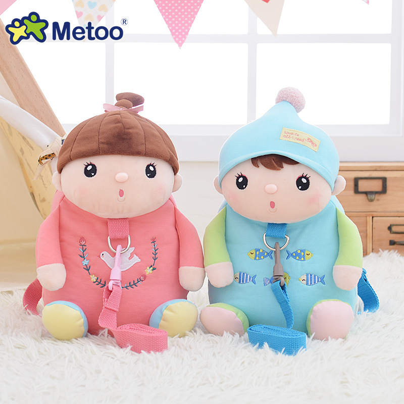 New-Arrival-Cute-Cartoon-Bags-Kids-Doll-Plush-Backpack-Toy-Children-Shoulder-Bag-for-Kindergarten-Girl-Metoo-Backpack-2