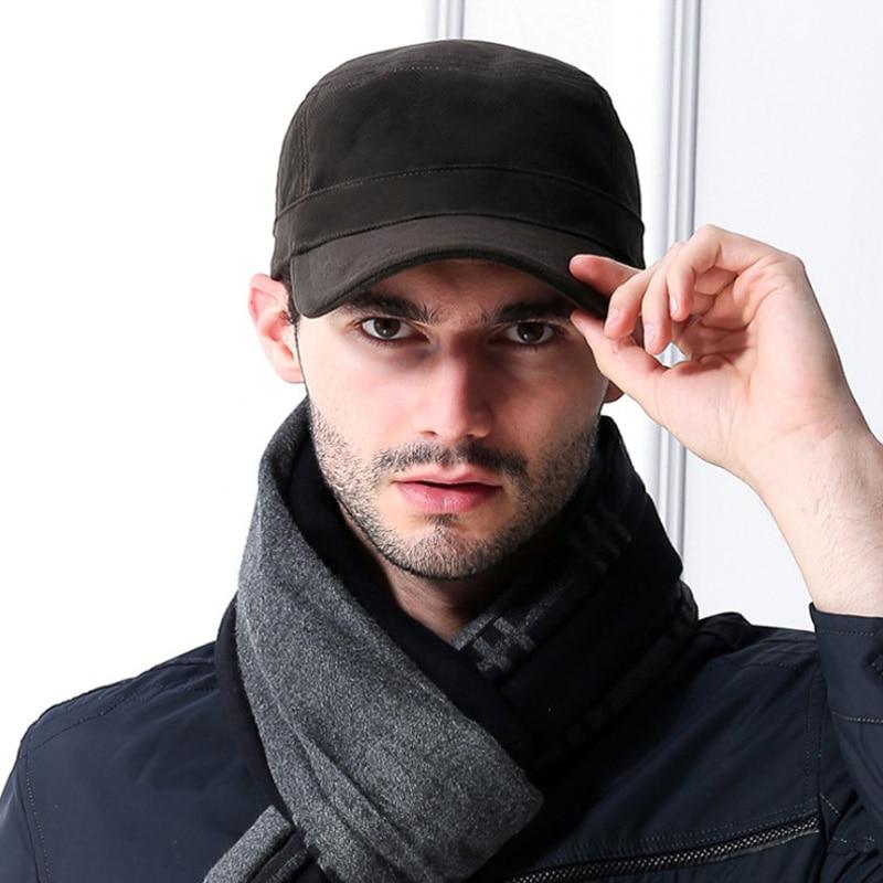 [АЕТРЕНДС] црна капа пуни памук кост - Одевни прибор