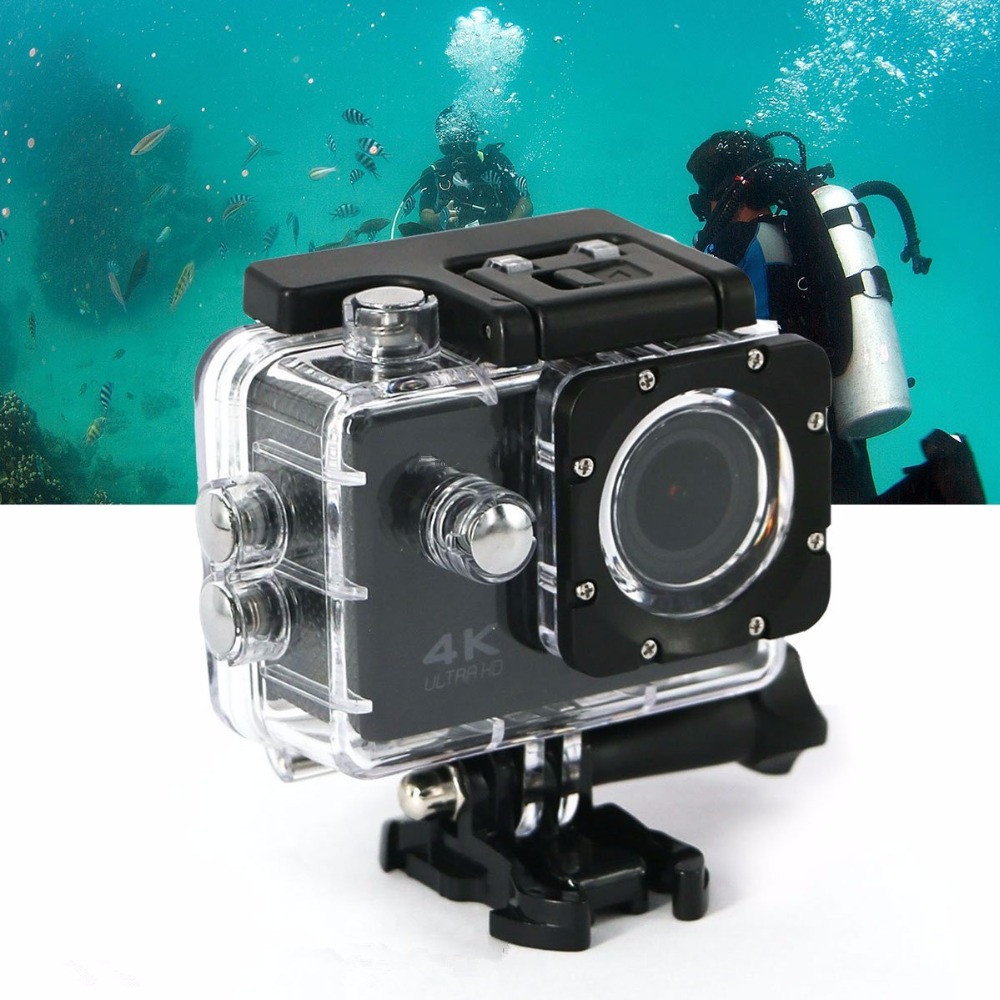 F60C 4K Sports Action Camera Waterproof Video Wifi Cam DV Camcorder Ultra HD 16MP 2.0 inch Screen 170 Degree Wide Angle Cameras x360 action camera wifi full hd 1080p 360 camera h 264 2 0 screen waterproof kamera wide angle mini dv dvr video camcorder