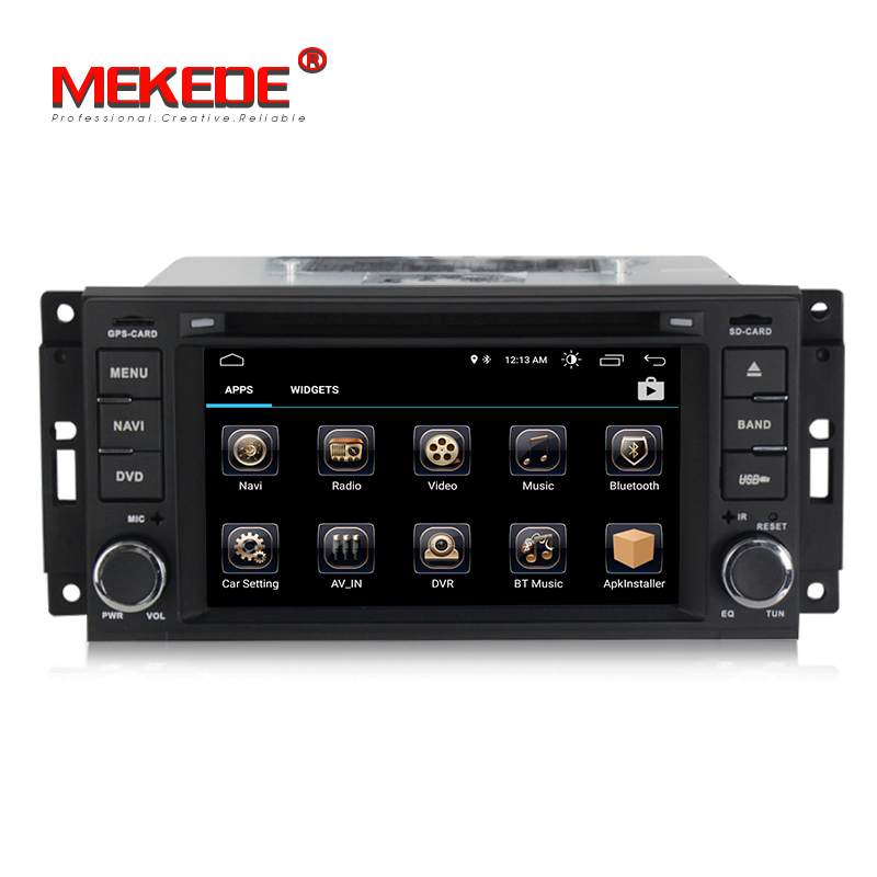 Android 8.0 HD 1024*600 Head Unit GPS Navi Radio Stereo Car DVD Player for JEEP Patriot Compass DODGE Journey Chrysler Sebring-in Car Multimedia Player from Automobiles & Motorcycles