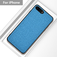 For iPhone 6 6S 7 8 plus X XR XS MAX Luxury Case Ultra-thin Cloth Soft Silicone Phone Cases Cover For iphone X xs max XR Case цена и фото