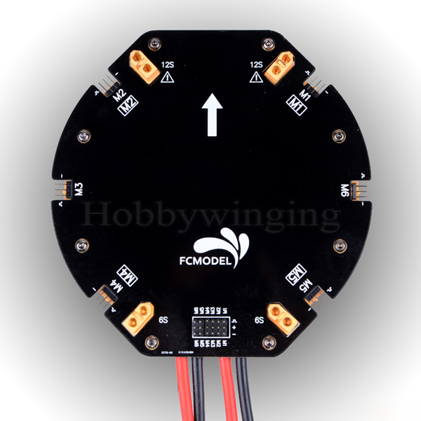 ФОТО 12S 480A Large Current Power Distribution Board PDB Board for Quadcopter Hexacopter