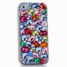 Женщины Красочные Горный Хрусталь Подарок Случае xiaomi mi 5/max ручной алмазный назад Чехол Для Редми 3/Note 4 Pro 2/3 Pro 3 s 4a/x