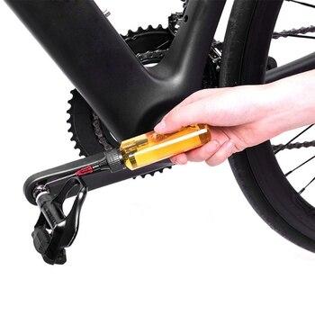 Lubricante de cadena de 60ML para el mantenimiento de la Moto o el coche, máquina de aceite lubricante, herramienta de reparación de lubricante