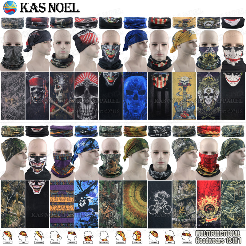 Hiking Scarf Sports Headdress Unisex Sunscreen Head Washouts Seamless Face Dustproof Polar Bandana Motorcycle Scarf To Be Distributed All Over The World Men's Scarves