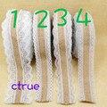 10M Jute Burlap Hessian Lace Ribbon Roll White Black Lace Trim Edge Rustic Wedding Centerpieces Vintage Wedding Decoration
