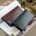 Z02 2014 New fashion solid male clutch wallets , the men's bags purses long leather wallet for famous brand men