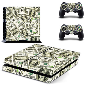 Image 3 - Grand Theft Auto V GTA 5 PS4 스킨 스티커 데칼 소니 플레이 스테이션 4 콘솔 및 2 컨트롤러 스킨 PS4 스티커 비닐 액세서리
