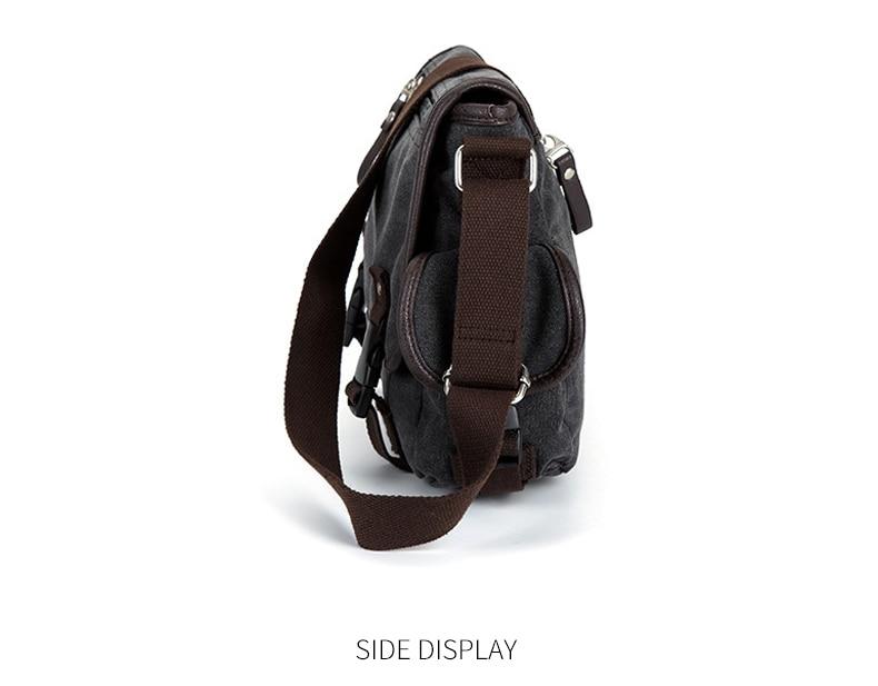 HTB1UcNSVgHqK1RjSZFPq6AwapXaE Vintage Men's Briefcases Shoulder Bag Travel Crossbody Bags Causal Canvas Messenger Bag Patchwork Multi-function Laptop XA237ZC