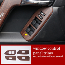 Lsrtw2017 auto pannello di controllo della finestra trim per toyota land cruiser prado 2010 2011 2012 2013 2014 2015 2016 2017
