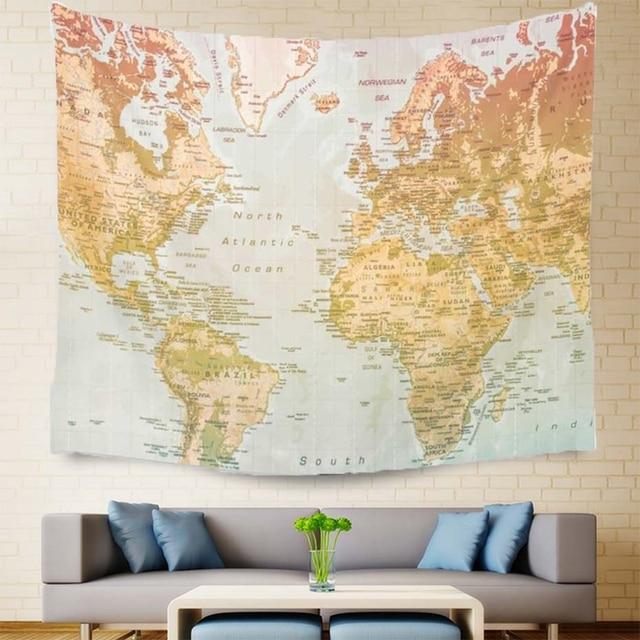 Aliexpress buy smavia world map wall hanging tapestry indian smavia world map wall hanging tapestry indian mandala tapestry bedspread beach towel yoga mat 150 gumiabroncs Choice Image