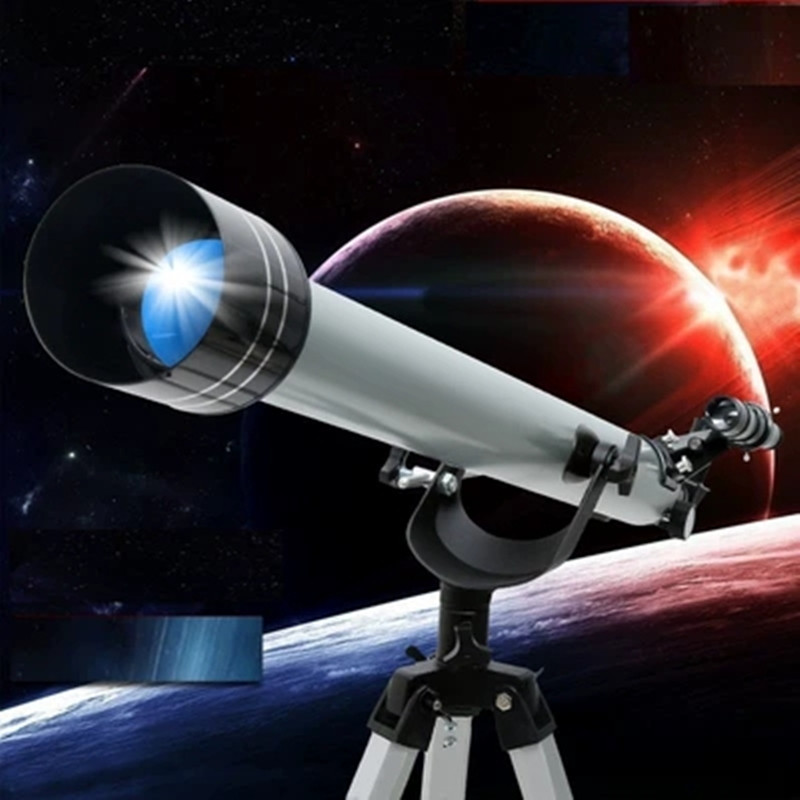 F90060 Professional Space Astronomical Telescope With Tripod 675X Outdoor Refractor Monocular Zooming Telescope for Beginner