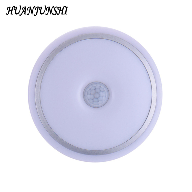 12w Pir Motion Sensor Acrylic Led Ceiling Light Lamp Warm White Modern Restaurant