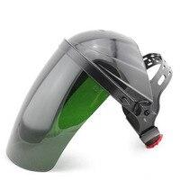 Duisternis Beschermende Lassen Masker Vizier UV Straling TIG Booglassen Hoofddeksels voor Gezicht Shield Gezicht Protector C91401