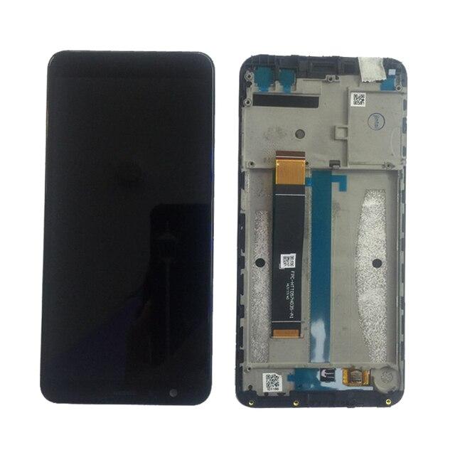 Display LCD Per Asus Zenfone Max Plus ZB570TL X018D X018DC + Touch Screen Digitizer Assembly con Telaio Trasporto Libero del Rimontaggio