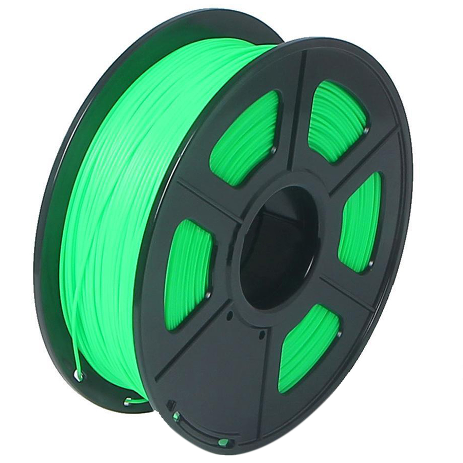 3D Printer Filament 1kg/2.2lb 3mm ABS Plastic for RepRap Mendel green 3d printer parts filament for makerbot reprap up mendel 1 rolls filament pla 1 75mm 1kg consumables material for anet 3d printer