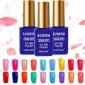 2016 Nueva Sunrim UV Gel Esmalte de Uñas 15 ml Gelpolish Uñas imprimación Vernis Semi Permanente 17 Colores Opcionales Esmalte de Gel de Verano Lak